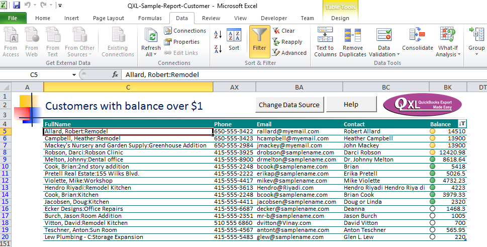 QXL Quick Start Guide for QXL for QuickBooks Online – QXL